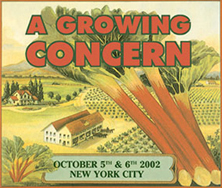 A Growing Concern poster