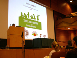 Opening of the Baum Forum: Schools Food and Gardening