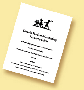 schools food and gardening resource guide