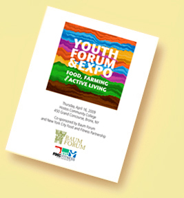 Youth Forum and Expo 2009_program cover